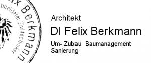 Logo Architekt DI Felix Berkmann in Graz Umbau Zubau Neubau Sanierung Baumanagement